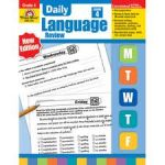 Daily Language Review Book,Grade 4